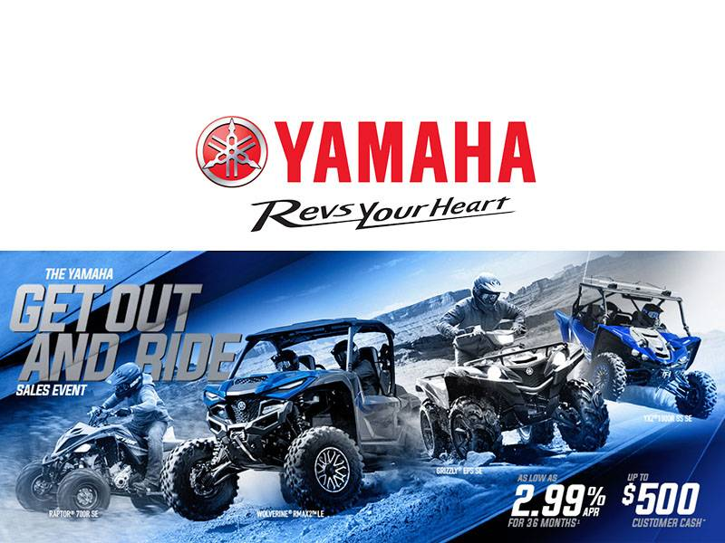 Yamaha - Get Out and Ride Sales Event - ATV