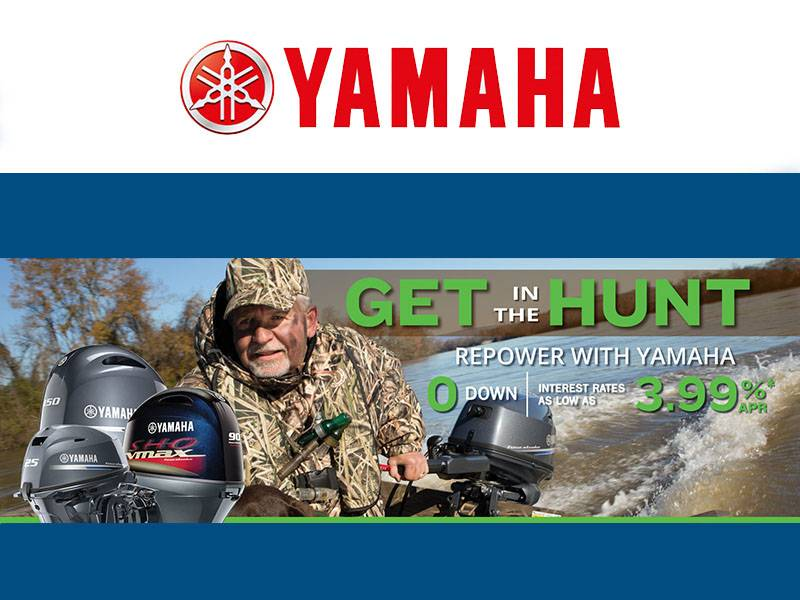 Yamaha Marine - Get in The Hunt Repower with Yamaha