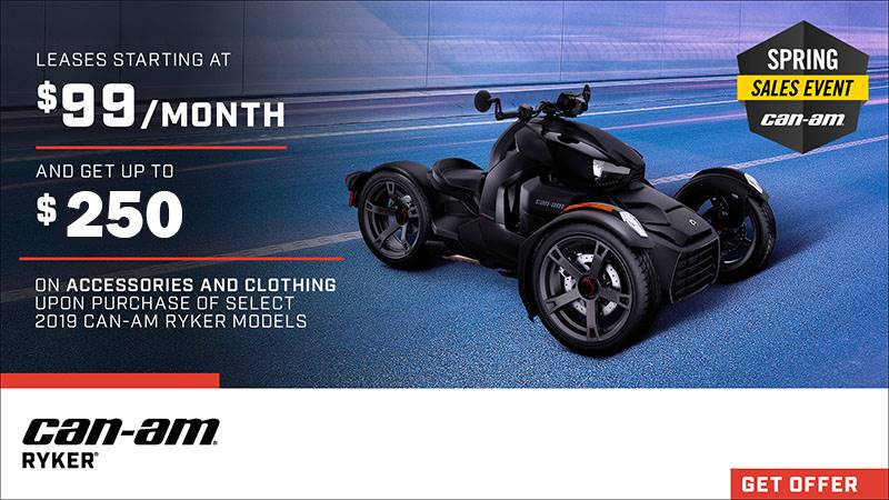 Can-Am - Spring Sales Event - Ryker Offers