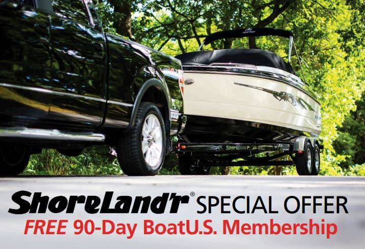 Shoreland'r® Free BoatU.S. Membership