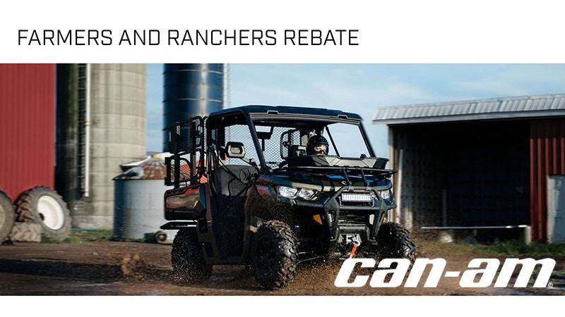 Can-Am - Farmers and Ranchers Rebate