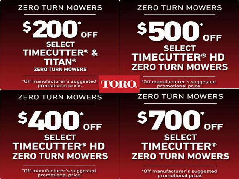 Toro - Save on Select TimeCutter Mowers