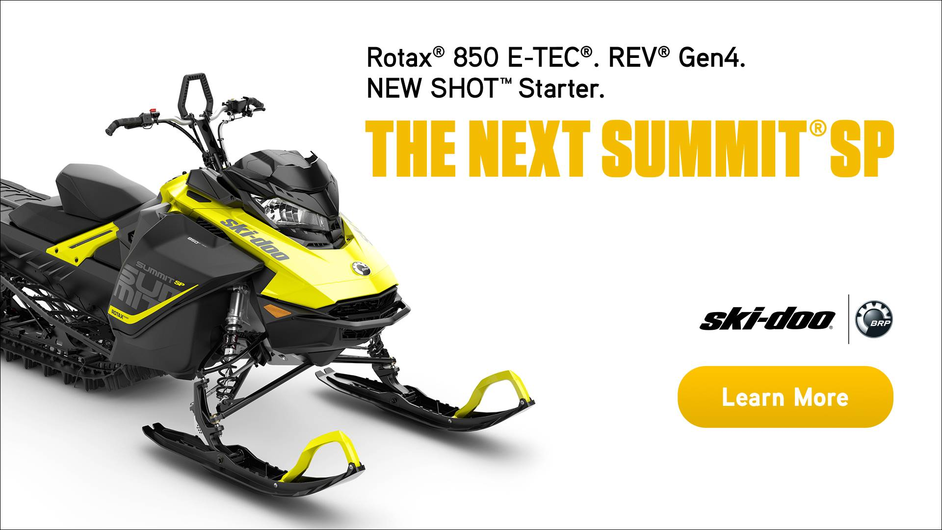 SKI-DOO THE NEXT SUMMIT SP