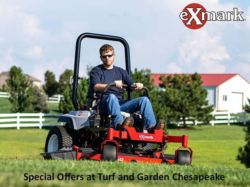 Exmark - Special Offers at Turf and Garden Chesapeake