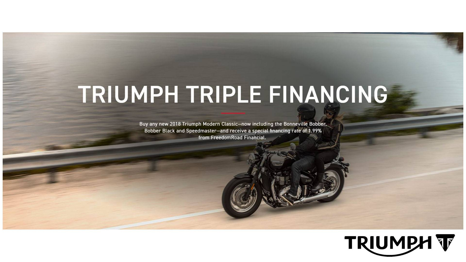 Triumph Triple Financing