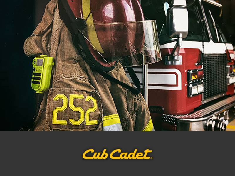 Cub Cadet - Special Offers - First Responder Rebate