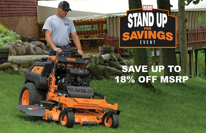 Scag Power Equipment - Stand Up For Savings Event