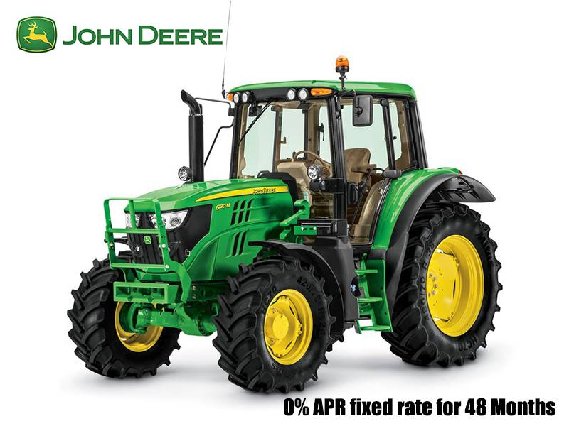 John Deere - 0% APR fixed rate for 48 Months on 6M/6R Series