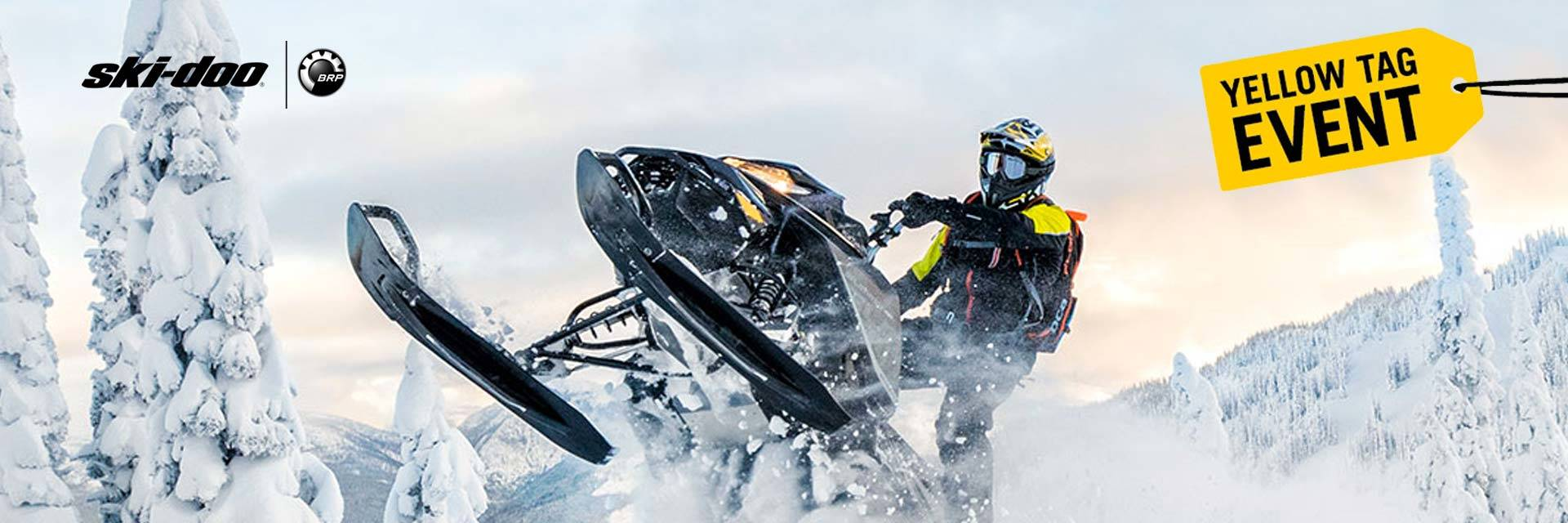 Ski-Doo - Yellow Tag Sales Event