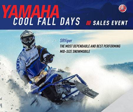 Yamaha Motor Corp., USA Yamaha Snowmobiles - Current Offers and Financing