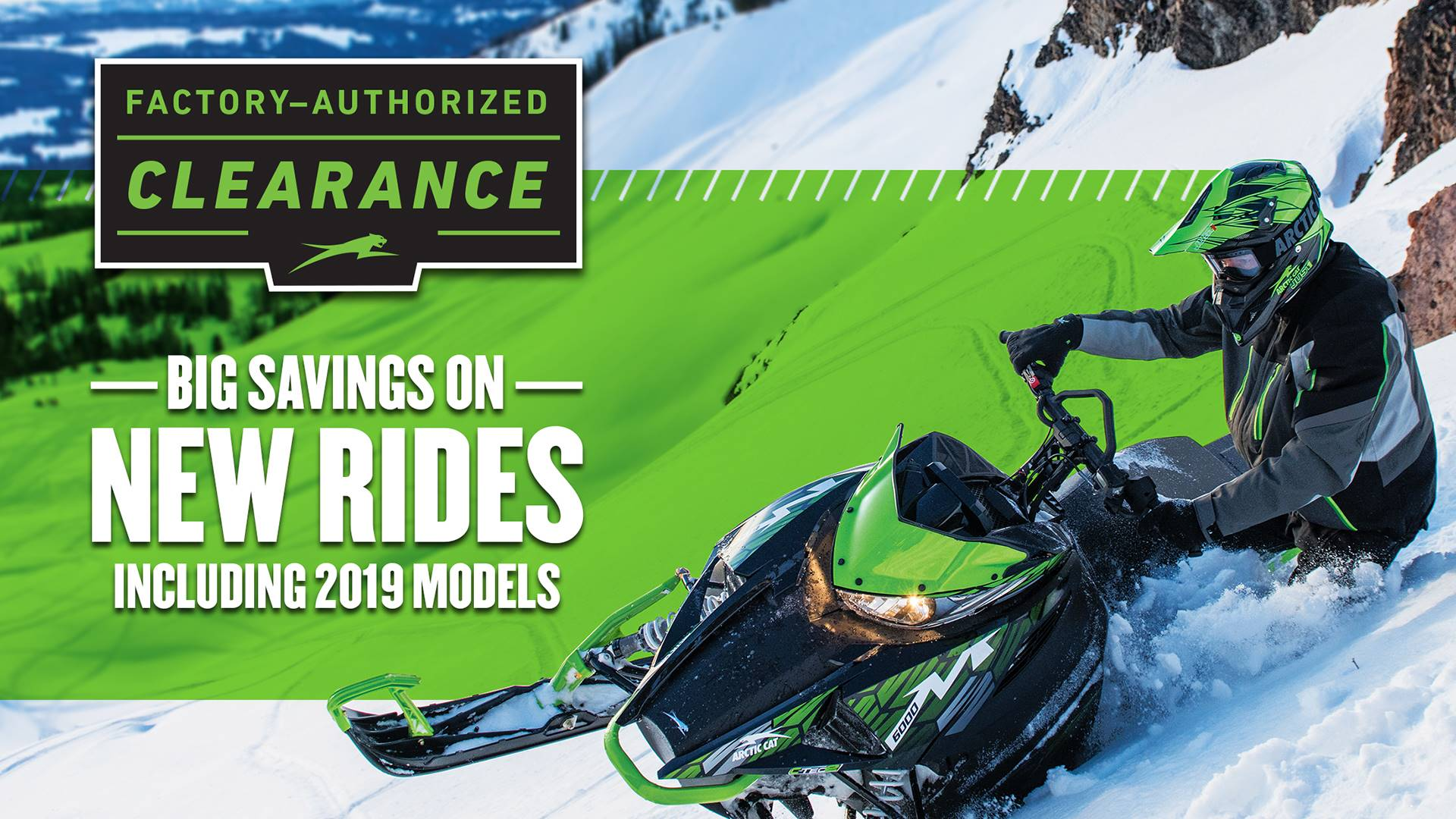 Arctic Cat - Factory-Authorized Clearance