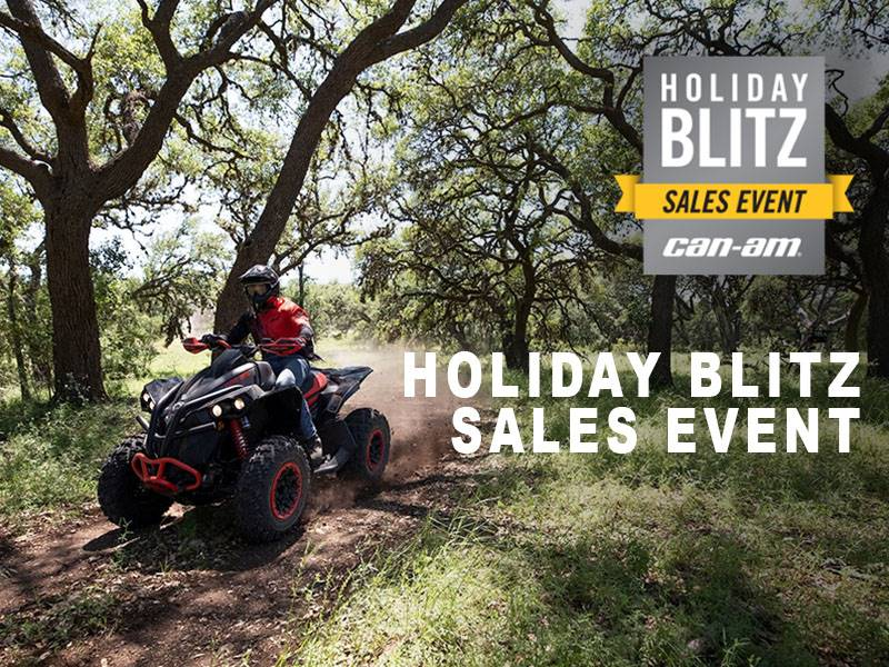 Can-Am - Holiday Blitz Sales Event - Renegade Offers