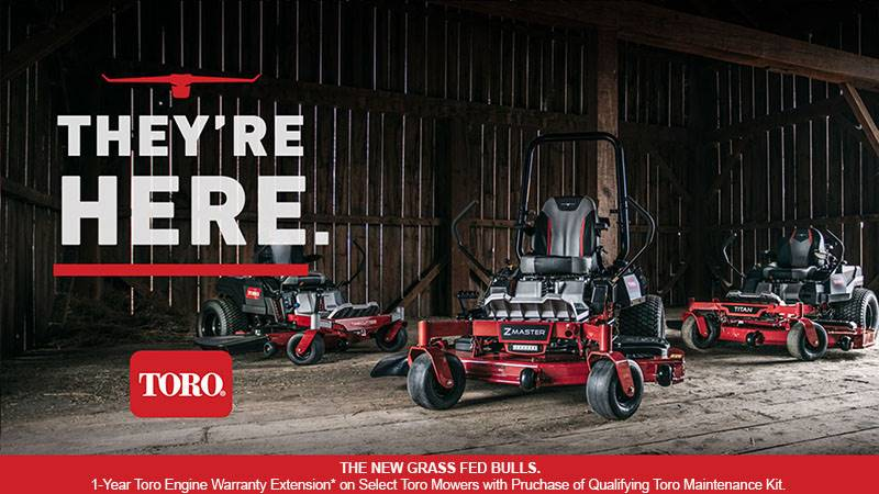 Toro - 1-Year Toro Engine Warranty Extension - Mowers