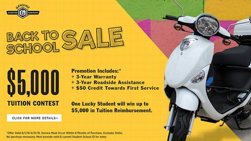 Genuine Scooters - Back to School Sale
