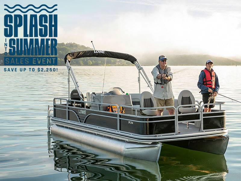 Lowe Boats - Splash Into Summer Sales Event