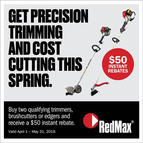 RedMax - Trimmer Rebate Promo