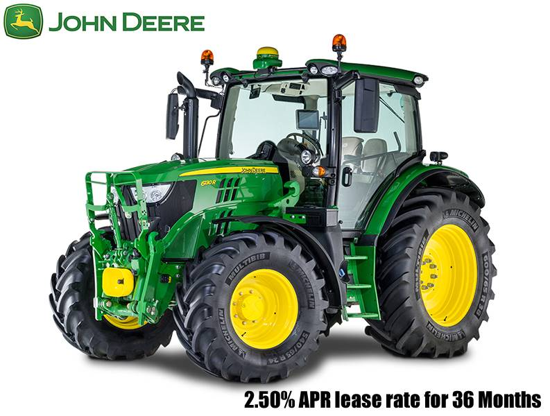 John Deere - 2.50% APR lease rate for 36 Months