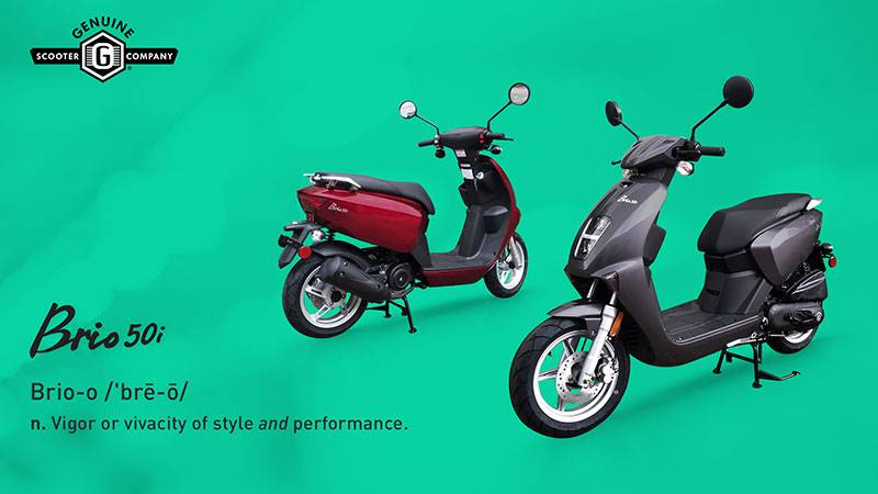 Genuine Scooters - Brio 50i