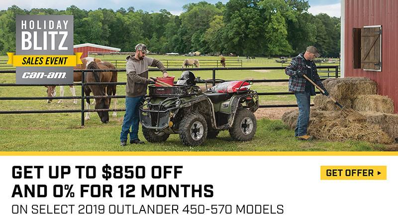 Can-Am - Holiday Blitz Sales Event - Outlander Offers