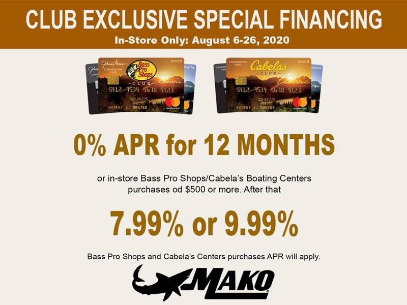 Mako - Club Exclusive Special Financing