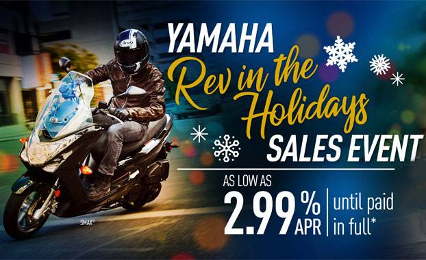 Yamaha - Rev in the Holidays Sales Event - Scooters