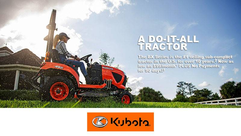 Kubota - BX Series - Do-It-All Tractor