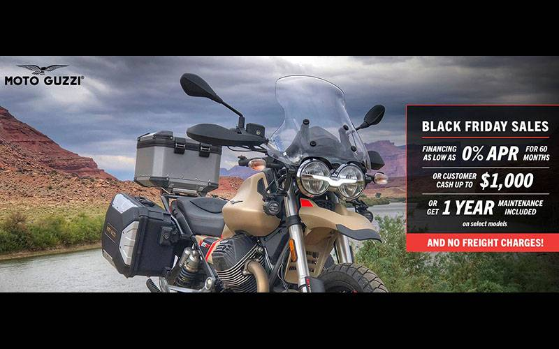 Moto Guzzi - Black Friday Sales