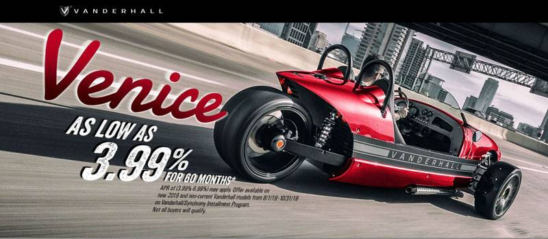 Vanderhall Motor Works - Venice As low As 3.99% For 60 Months*
