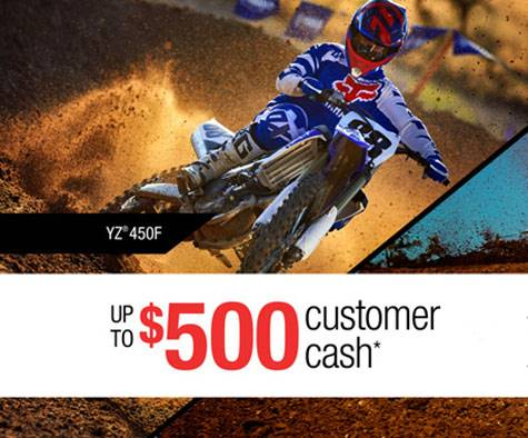 Yamaha Motor Corp., USA Yamaha - Current Offers - Dirt Motorcycles
