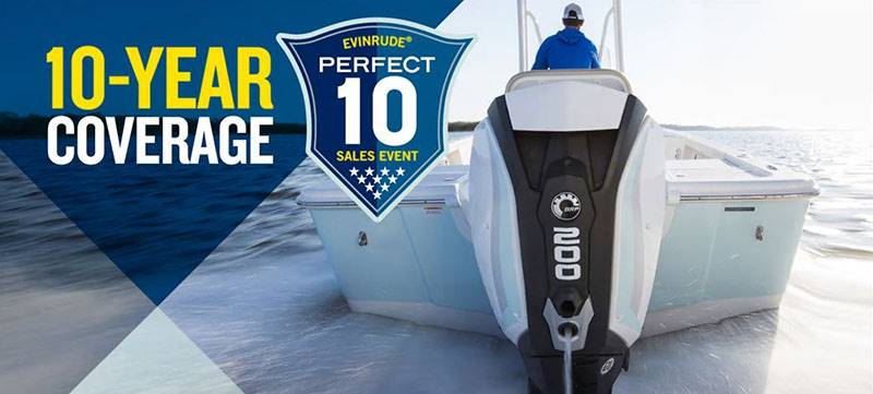 Evinrude - Perfect 10 Sales Event