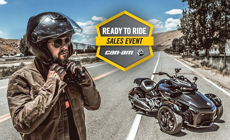 Can-Am Motorcycles - Ready To Ride Sales Event