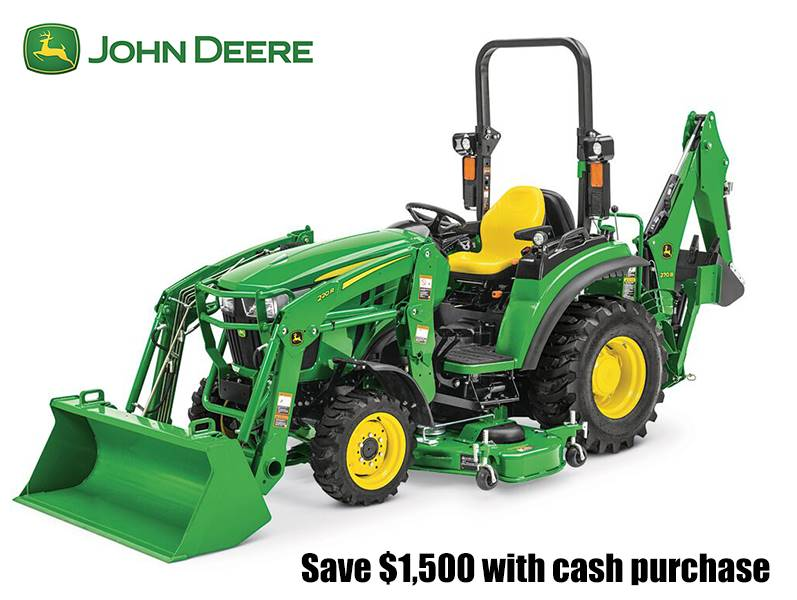 John Deere - Save $1,500 with cash purchase