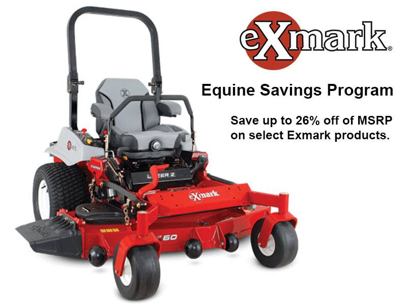 Exmark - Equine Savings Program