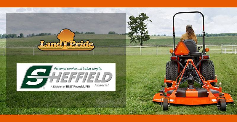 Land Pride - Sheffield Financial Programs (Rotary Cutters (Qual Mod) ONLY)