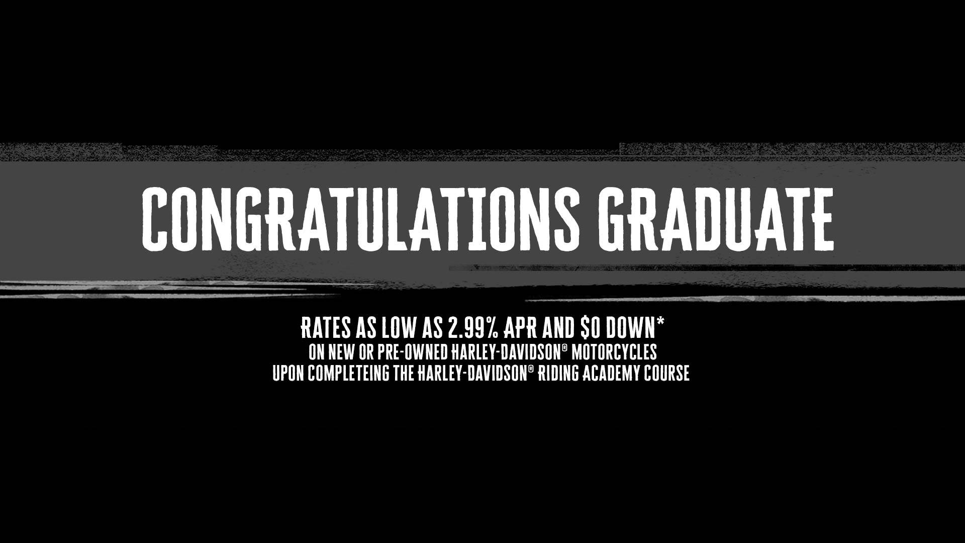 Harley-Davidson - Rider Training Graduate Program
