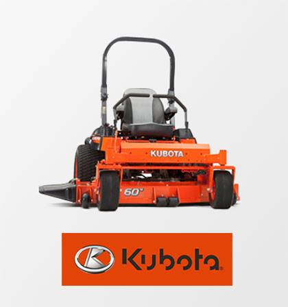 Kubota - New Mower Purchase Special Offers