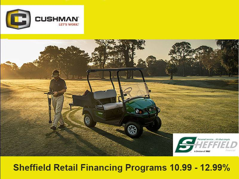 Cushman - Sheffield Retail Financing Programs 10.99 - 12.99%