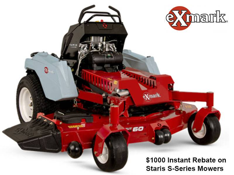 Exmark - $1,000 Instant Rebate on Staris S-Series Mowers