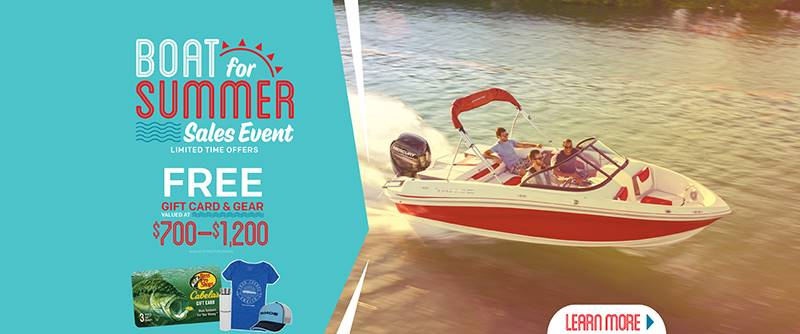 Tahoe - Boat For Summer Sale Event