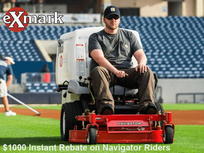 Exmark - $1000 Instant Rebate on Navigator Riders