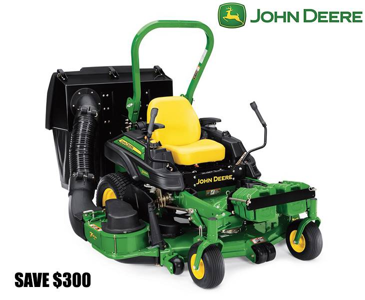 John Deere - Save $300 on Z915E/Z930M/Z930R Commercial ZTrak Mowers