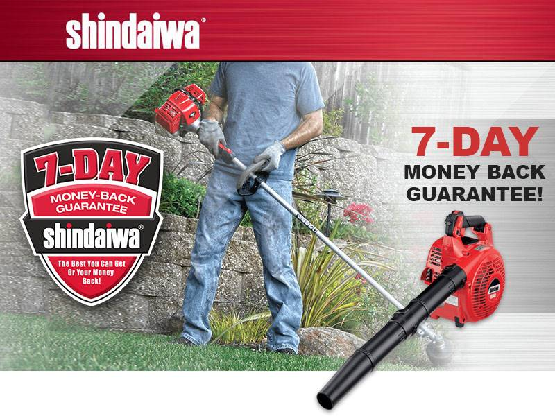 Shindaiwa - 7 Day Guarantee