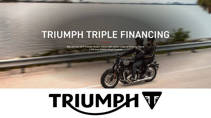Triumph -  Triple Financing Offer