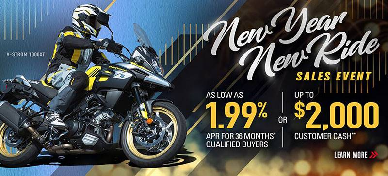 Suzuki - New Year Ride Sales Event - Motorcycles & Scooters