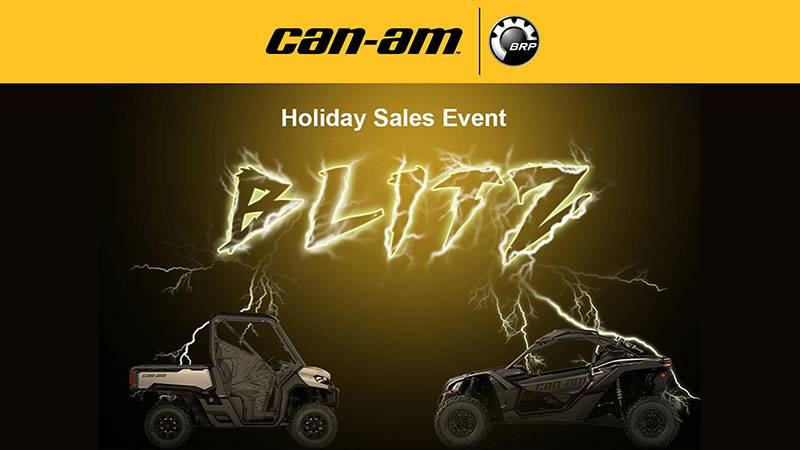 Can-Am - Holiday Blitz Sales Event - ATV and SSV
