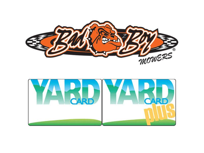 Bad Boy Mowers - Yard Card & Yard Card Plus Financing Offers