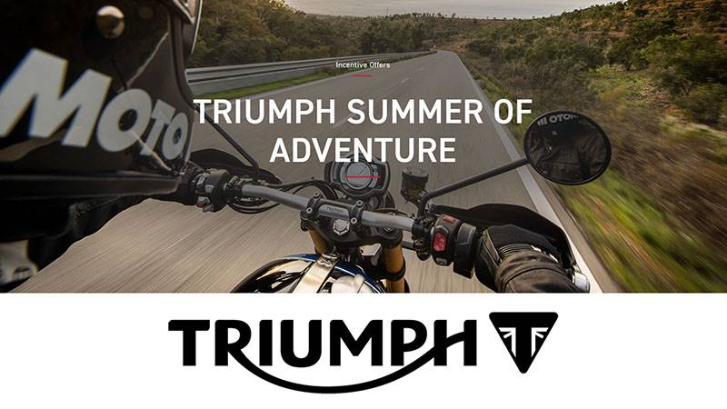 Triumph - Summer of Adventure