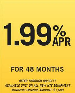 Hustler Sheffield Financial - 1.99% APR for 48 Months