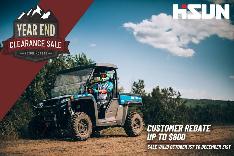 Hisun - Year End Clearance Sale