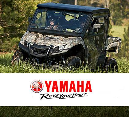 Yamaha Motor Corp., USA Yamaha Utility SxS - Current Offers and Financing